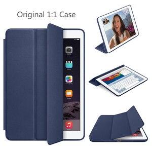 Оригинальный чехол для iPad pro 9,7 дюймов, чехол с 1:1 магнитом, умный, автоматический, спящий, кожаный чехол с откидной крышкой A1673 A1674 A1675