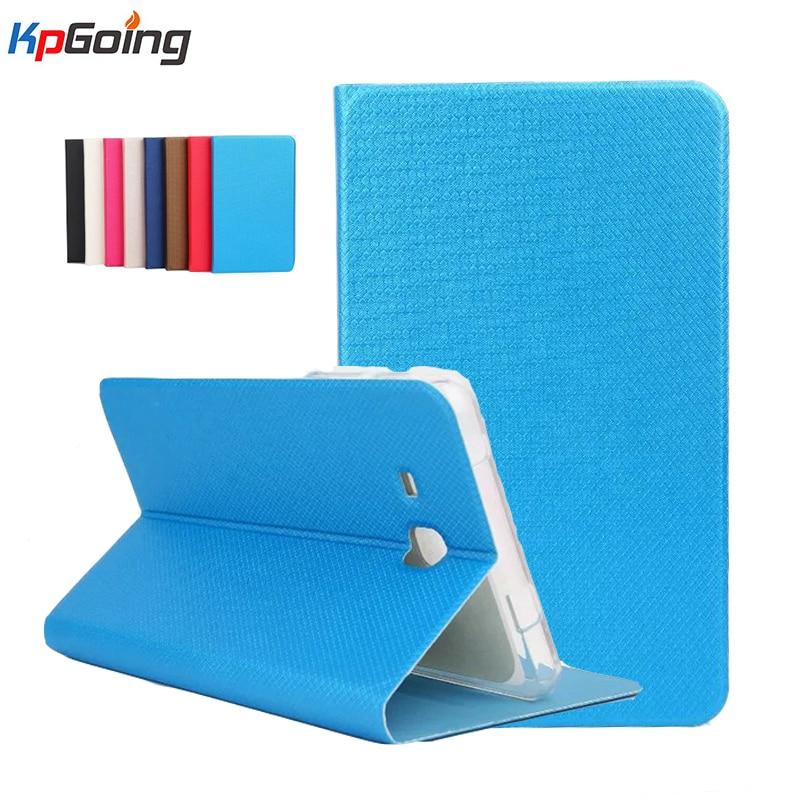 TPU + Leather Case for Samsung Galaxy Tab A T280 Flip Stand Cover for SM-T280 Cover Case for Samsung Tab A 7.0 T280 T285 Fundas
