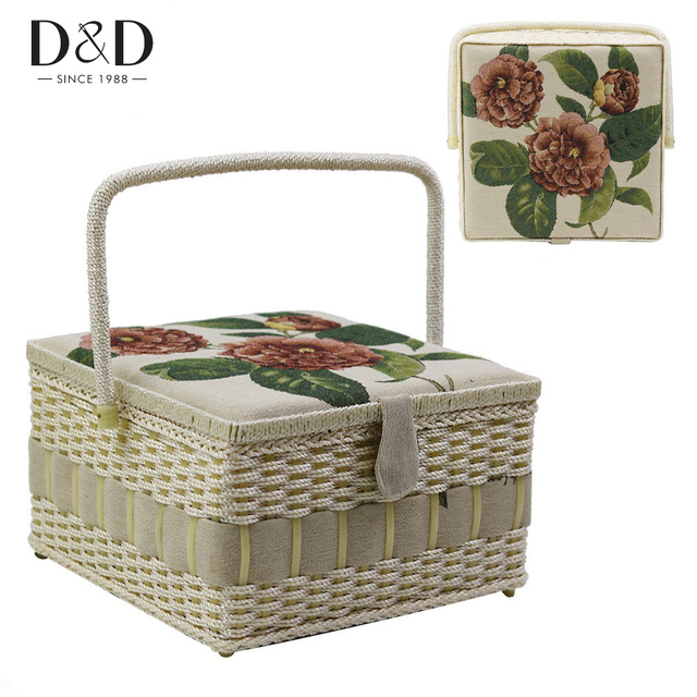 Du0026D 4 Designs Household Sewing Storage Basket Storage Box Container Organizer with Sewing Accessories Christmas Gift  sc 1 st  AliExpress.com & Du0026D 4 Designs Household Sewing Storage Basket Storage Box Container ...