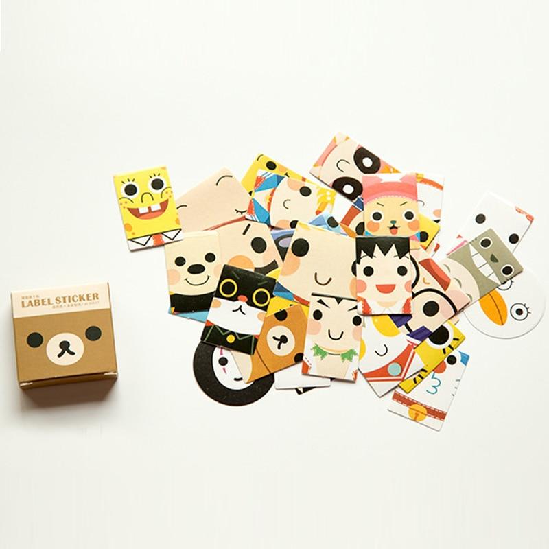 Cute Cartoon Emotionalhealing Memo Pad Stickers Posted It Kawaii Planner Scrapbooking Stationery Sticker Escolar School Supplies
