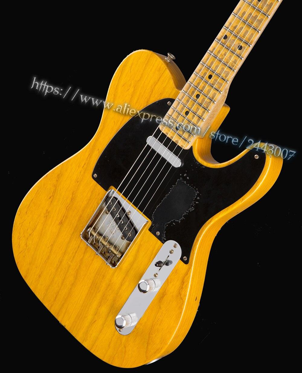 GC Custom Shop Mike Campbell Heartbreaker LTD Butterscotch Blonde Electric Guitar электрогитара с двумя вырезами prs se custom 24 zw ltd