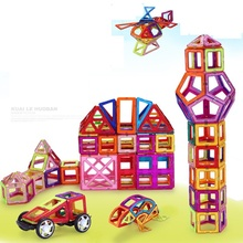 330 PCS  Magnetic Designer Construction Set Model & Building Toy Plastic Magnetic Blocks Educational Toys For Kids Gift