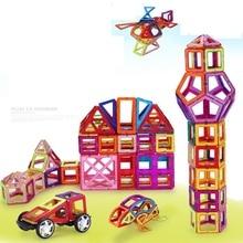 330 PCS  Magnetic Designer Construction Set Model & Building Toy Plastic Magnetic Blocks Educational Toys For Kids Gift