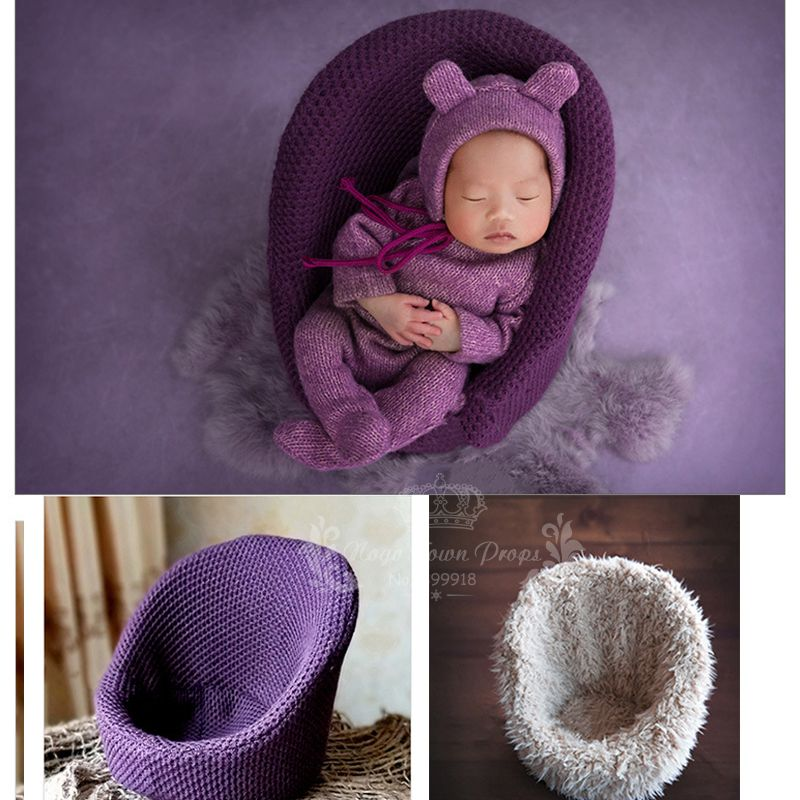Baby Furniture 2018 New Newborn Posing Blanket Baby Shoot Studio Props Baby Poses Outdoor Newborn Photography Bucket At Sunset Profesional Bebe