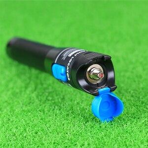 Image 5 - KELUSHI 1 мВт новый FTTH Оптический металлический оптоволоконный тестер с LC/FC/SC/ST адаптером оптоволоконный кабель визуальный локатор ошибок для CATV