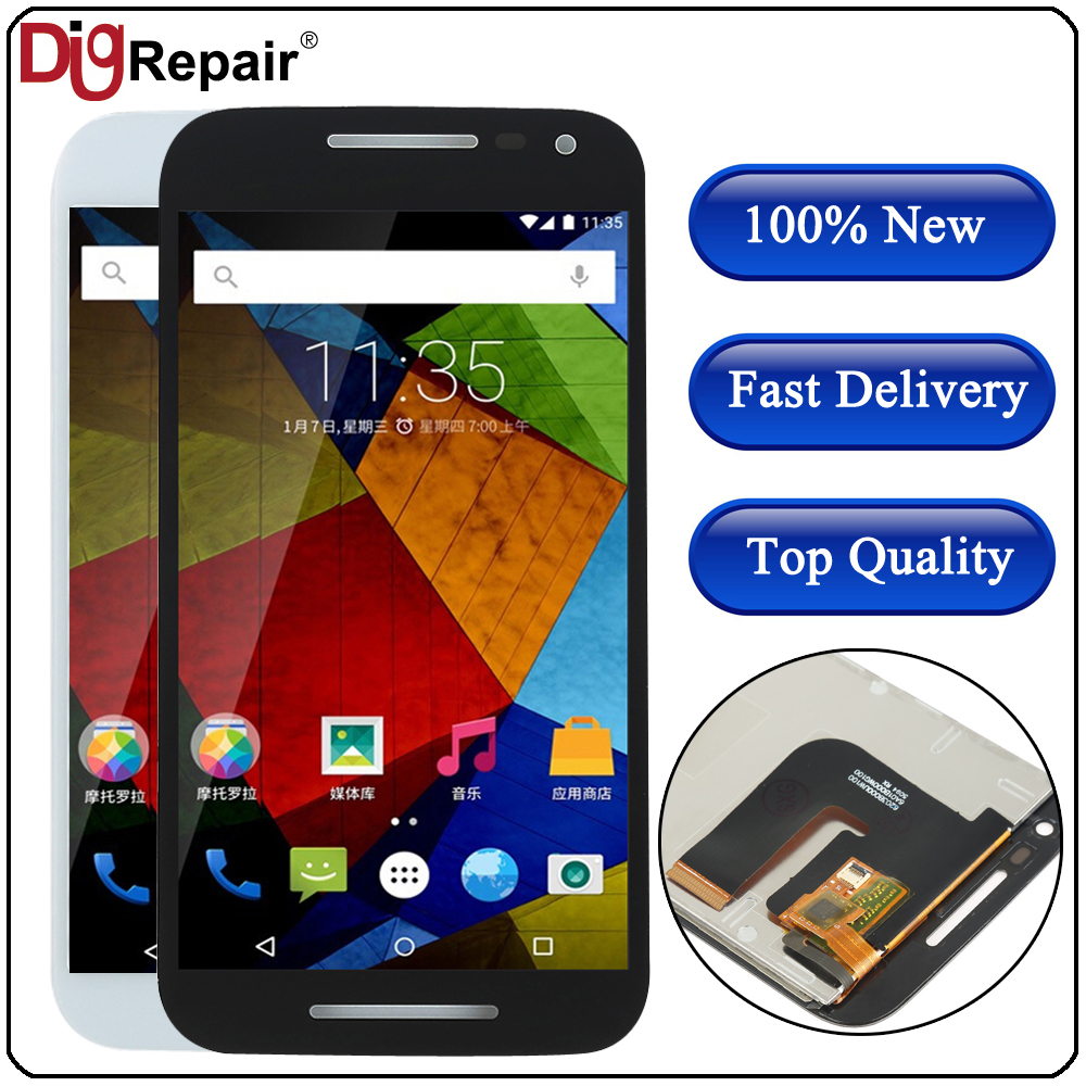 For Motorola Moto G 3rd Gen G3 XT1544 XT1550 XT1540 XT1541 XT1543 LCD  Display Touch Screen Digitizer Assembly Replacement Parts-in Mobile Phone  LCD Screens from Cellphones & Telecommunications on AliExpress