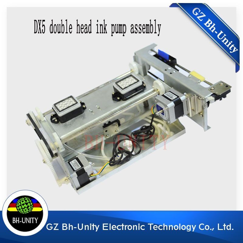 top quality dx5 head assembly for yeselan / leopard human /inkjet printer machine for sale hot sale single dx5 ink pump assembly for flora versacamm leopard large format printer machine