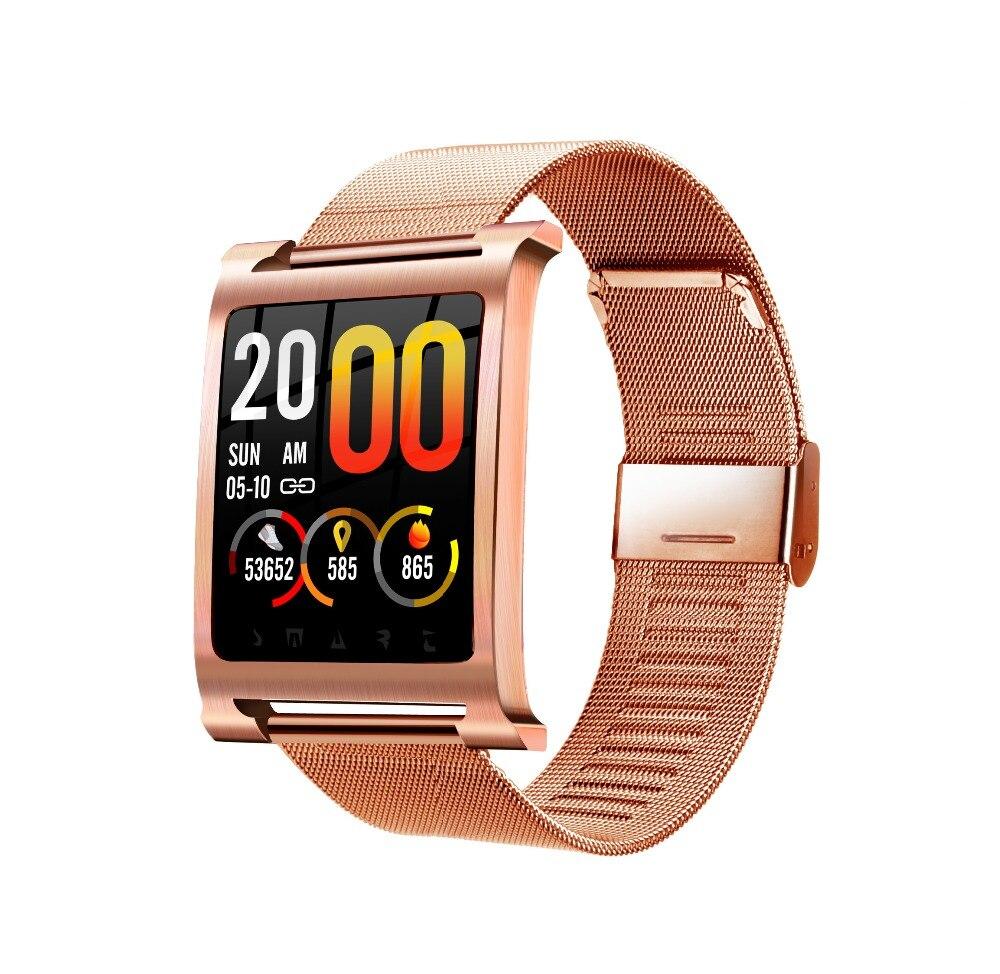 """K6 montre intelligente V4.0 IP68 étanche montre fréquence cardiaque pression artérielle oxygène sanguin 1.3 """"HD écran couleur extérieur smartwatch PK P68-in Montres connectées from Electronique    1"""