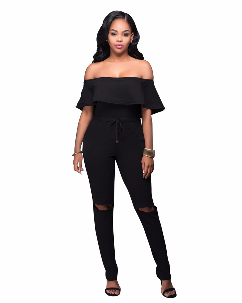 women strapless jumpsuit overall -15