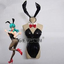 Bulma Dragon Ball Аниме Косплей Bulma bunny девушка косплей костюм сексуальный костюм может на заказ/размер