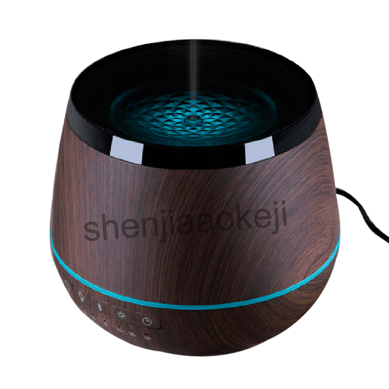 100-220 V Bluetooth audio parfum lampe romantique aromathérapie spray air humidificateur ménage muet chambre diffuseur d'huile essentielle