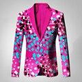 Mens Vestuário Africano Dashiki Top Men Blazer Slim Fit Blazer causais Blazers Homens Casacos de Manga Longa Homens 6XL Dashiki BRW WYN244