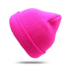 Fashion Winter Hat for Men Women Beanie Hip Hop Solid Color Unisex Hats Female Casual Warm Cap Knitted Hat Stripe Beanies Cap