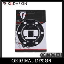 KODASKIN Fake Carbon Fiber Gas Cap Tank Pad Filler Cover Sticker Decals for BMW R1200GS 13-15