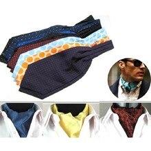 mens wide tie casual cravat dress shirt suit men s accessories necktie ascot brand neckwear man