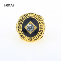 Fashion Gold Plated Vintage Baseball 968 Detroit Tiger World Series Replica Championship Rings