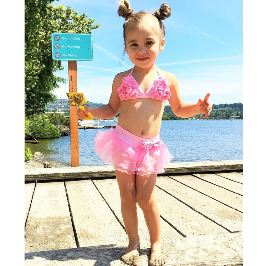 Baby Bikini Baby Girl Baby Swimsuit Girls Swimwear Bathing Suit Girls Swimsuit Kids Swimming Bikini Set Swimsuit Swimwear Suit