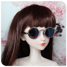Toys Doll Glasses With Case Large Frame Round Frame Glasses SD DD 2D BJD 1/3 Baby Born Doll Accessories Toys For Girls Children