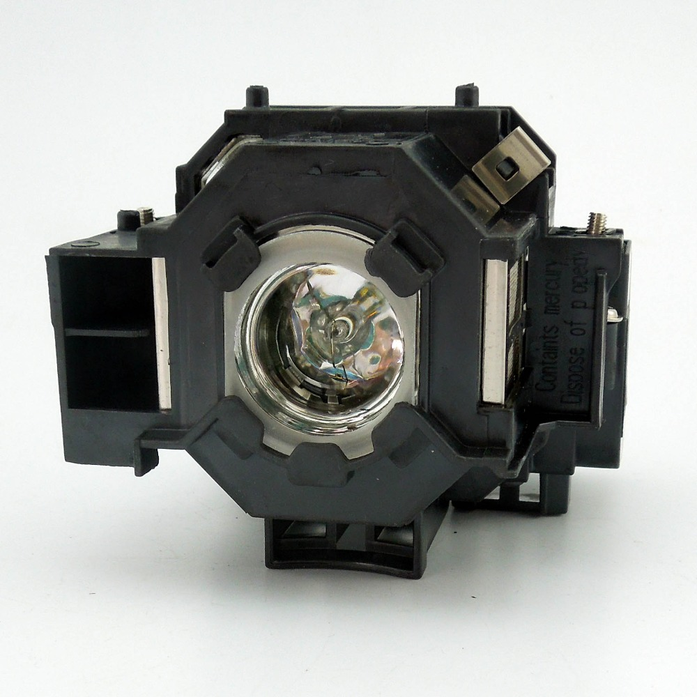 Original Projector Lamp With Housing EP41 For PowerLite 77c / PowerLite 78 / PowerLite S5 / PowerLite S6 epson elplp41 v13h010l41 replacement lamp for eb s6 x6 s62 x62 s6lu x6lu tw420 eh tw420 w6 emp 260 77c s5 x5 s6 x6 x52 projector
