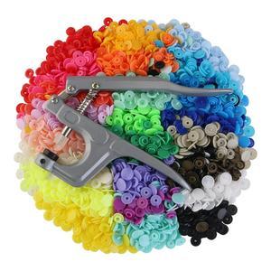 Image 3 - Fixation professionnelle Snap Pinces et 360 pièces T5 Snap Poppers Boutons En Plastique Kit Boutons pression bricolage Couture et Lartisanat Outil
