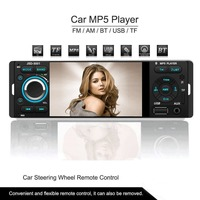 Car MP5 Player New 12V 4.1 HD Touch screen TFT Bluetooth/Stereo FM Radio/MP3/MP4/Audio/Video/USB/SD/TFT/Manufacturer/1Din