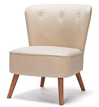 Европейский стиль твердой древесины искусства ткани диван кресло. кафе столы и стулья