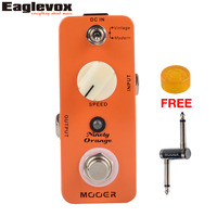 Mooer Ninety Orange Micro Analog Phaser Electric Guitar Effect Pedal True Bypass