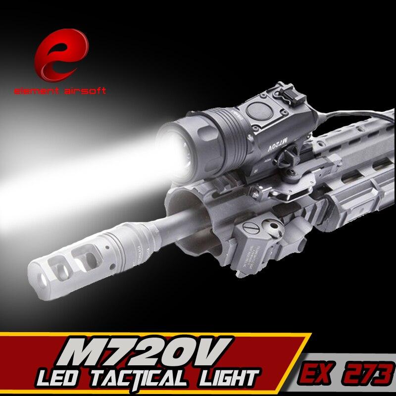 Element Airsoft Surefir M720V arme tactique lumière strobo lampe de poche chasse Softair Ir lampe Arma fusil pistolet lanterne pour la chasse