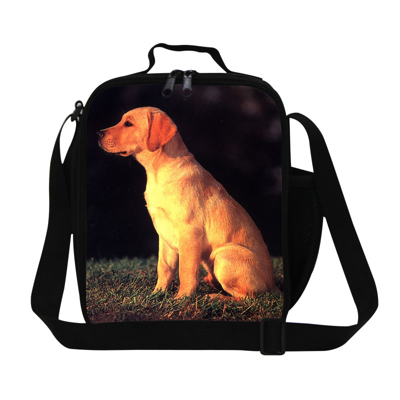 f203cc11849a Cartoon Dog Lunch Bag For Teenagers Animal 3D Print Students Lunch ...