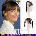 Новые волосы аксессуары прически косы с челкой повязка на голову косы шиньоны клип в челкой синтетических наращивание волос для женщин