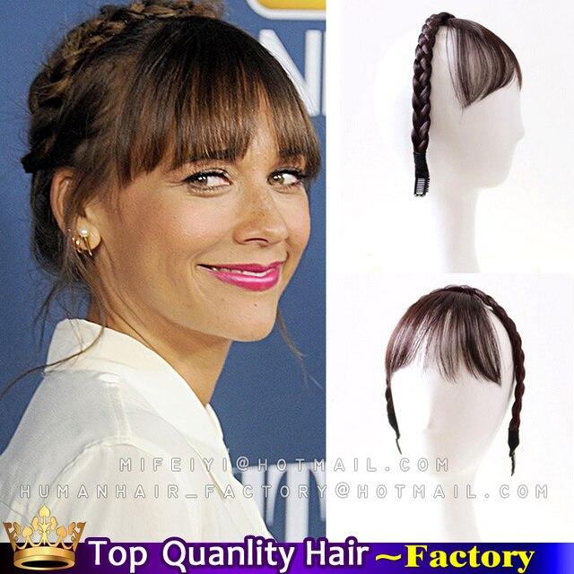 Nouvelle Accessoires De Cheveux Coiffures Tresses Avec Une Frange