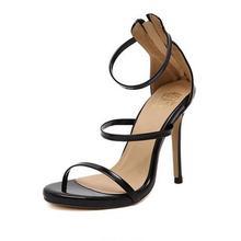 2016ใหม่มาถึงVogueผู้หญิงรองเท้าดังClAnkleสายรัดรองเท้าส้นสูงเซ็กซี่กริช/พรรครองเท้าแต่งงานขนาดบวก