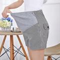 2015 Jeans Maternity Denim Striped Short Summer Shorts For Pregnant Women Gravidas Clothing Pregnant Clothes x1