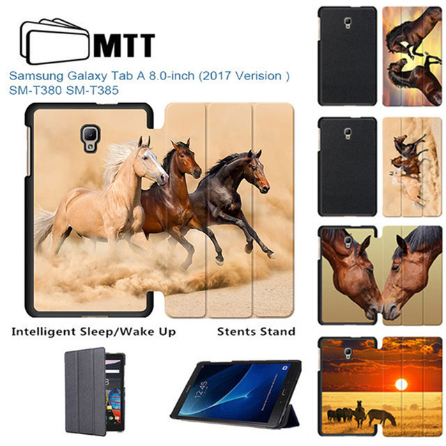 Mtt Akhal Teke Horse Case For Samsung Galaxy Tab A 8 0 T380 T385
