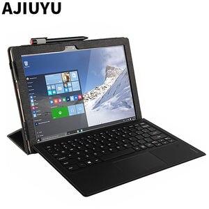 Image 1 - Dla Lenovo Miix 510 Case Ideapad MIIX 5 ochronne etui do smartfona Faux Leather Tablet Miix5 pokrowiec ze sztucznej skóry MIIX510 rękaw pokrowca