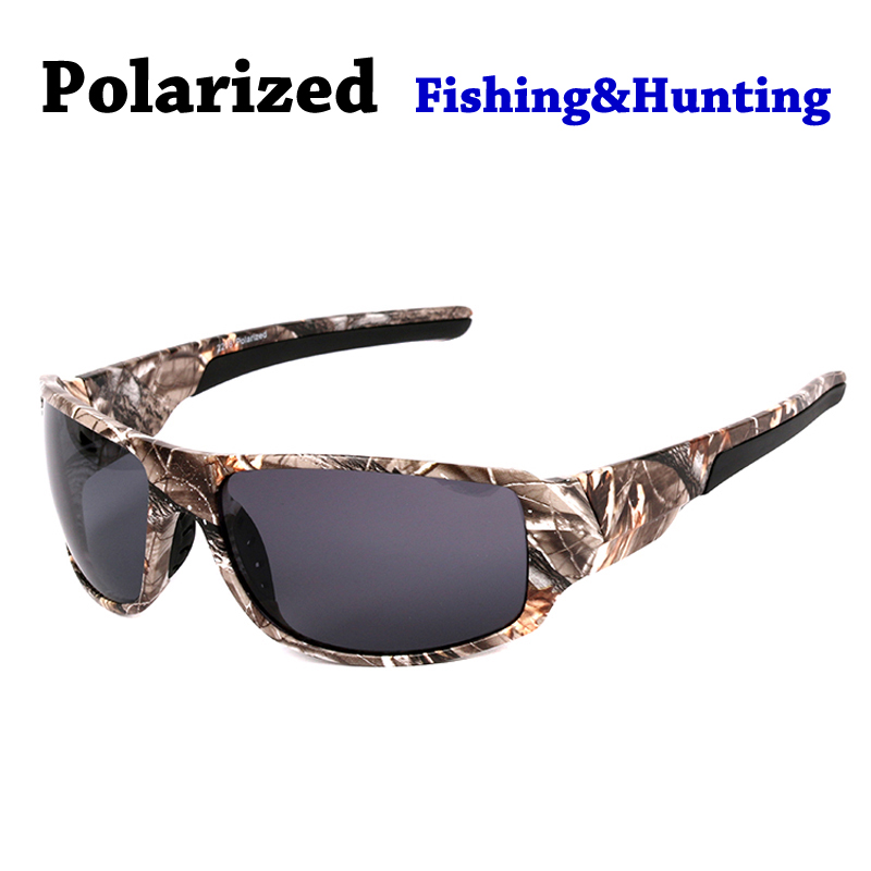2017 New Casual Polarized Sunglasses Men Cool Camouflage Frame UV400 Polaroid Goggles Glasses Military Style