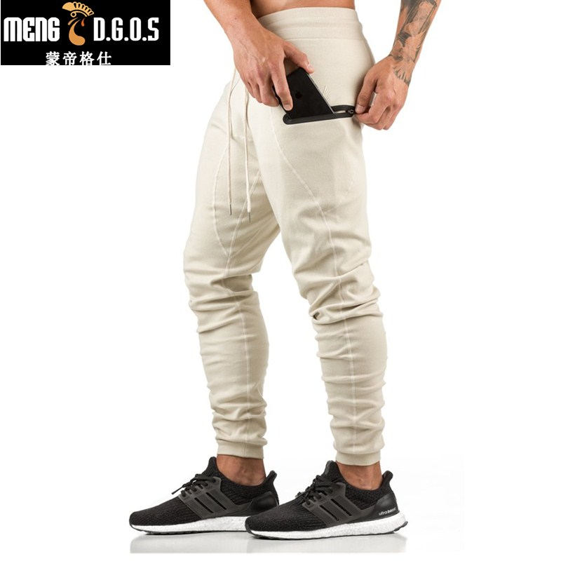 2017 NEW men's casual GYMS pants shark products professional fitness