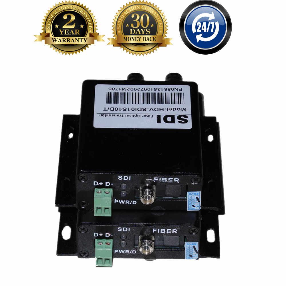 ZY-STF503 HD SDI Fiber Coaxial Optical Converter Dengan RS485 Data 1080 P HD-SDI Fibra Optik Untuk BNC Video Transmitter Extender 20 km