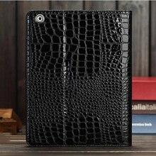 High Quality Crocodile Leather Case for iPad 4 3 2