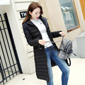 2016 Winter New Women Korean long section hooded down cotton jacket fashion winter female parka