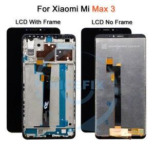 Image 4 - שיאו mi Mi מקסימום LCD תצוגת מסך מגע Digitizer עצרת עבור שיאו mi Mi מקסימום 2 LCD Max2 מקסימום 3 החלפת מסך שחור לבן