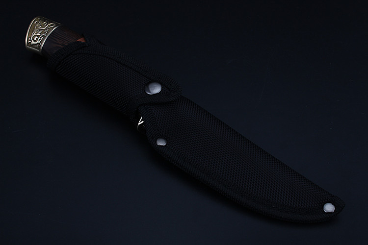 Купить с кэшбэком 2020 New Hot Sale High Hardness Wood Handle Outdoor Fixed Tactical Combat Hunting Knife Camping Diving Military Knives EDC Tools