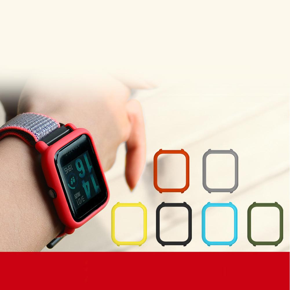 Full Protective Case Watch Cover Accessories For Xiaomi Huami Amazfit Bip Younth Watch in Smart Accessories from Consumer Electronics