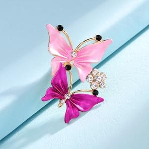 Женские заколки-брошки с кристаллами, Подарочная брошка для свадьбы/Вечеринки
