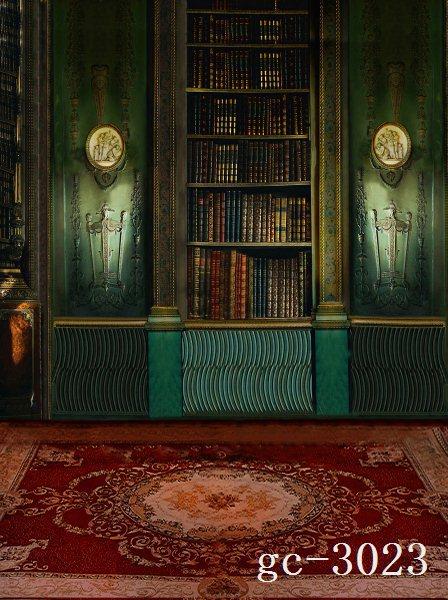 studio indoor backgrounds backdrops books case 8x12 carpet cabinet vinyl background shelf custom zoom 10x20
