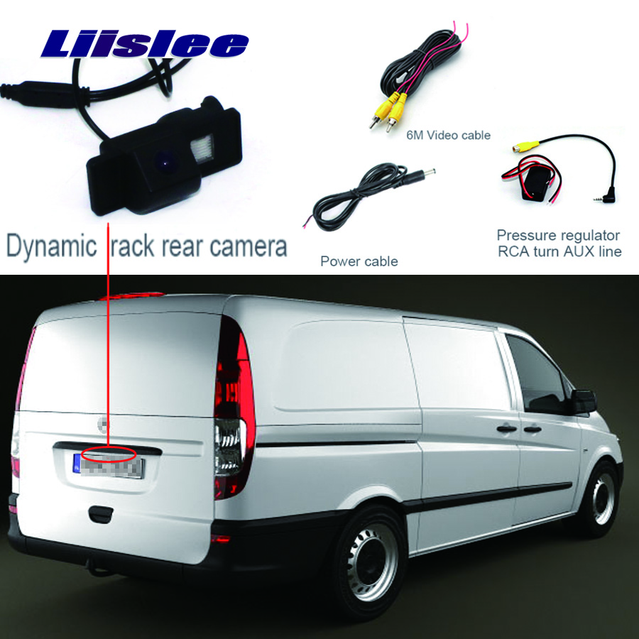 Liislee For Mercedes Benz Vito W639 2003 2004 2005 2006 2007 2008 2009 2010 2011 2012 2013 Reverse Backup Camera  HD CCD