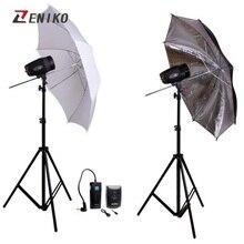 Godox 360W Godox K-180A Studio Flash Lighting kit Photography Strobe Light kit for Portrait wedding studio photo