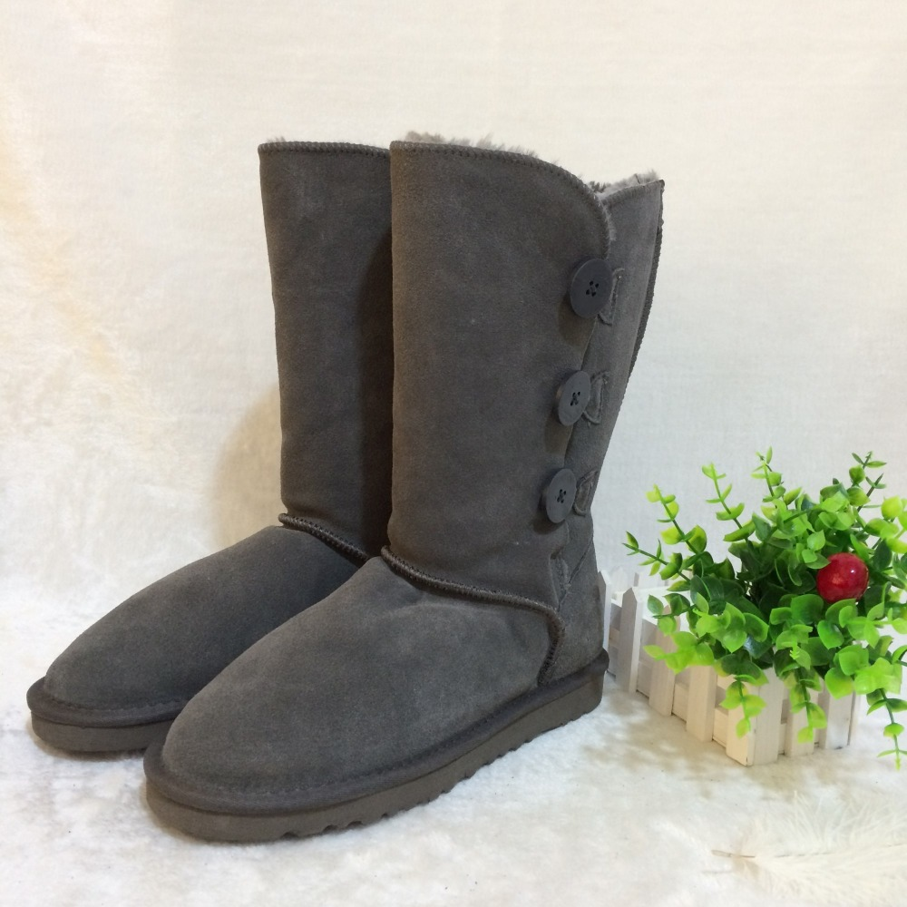 031779fc27 ... waterproof warm winter unisex shoes brand IVG. US $40.58. Women's snow  boots Australian style winter boots classic button knee thigh high to help  snow ...