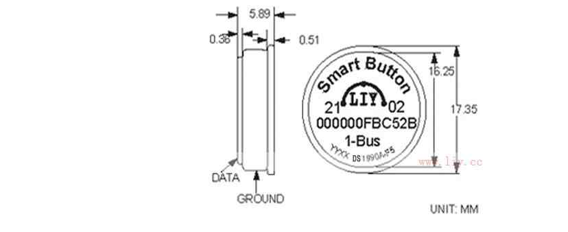 ibutton ds1990a lock