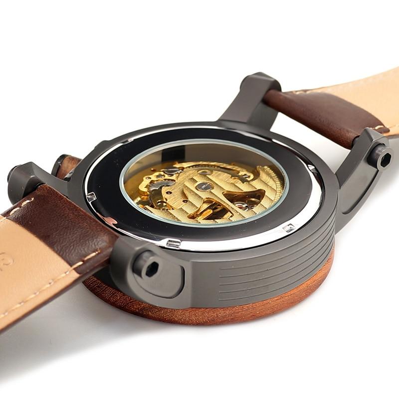 BOBO BIRD Relojes mecánicos de los hombres de la marca de lujo - Relojes para hombres - foto 5